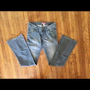 Vintage Western Bootcut Jeans